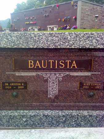 COWAN BAUTISTA, RUBY - Kanawha County, West Virginia | RUBY COWAN BAUTISTA - West Virginia Gravestone Photos