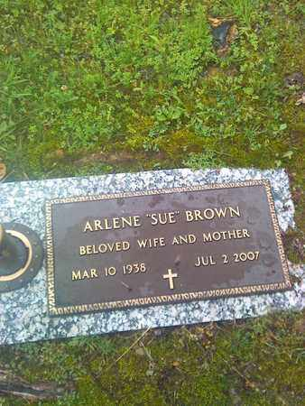 BROWN, ARLENE - Kanawha County, West Virginia   ARLENE BROWN - West Virginia Gravestone Photos