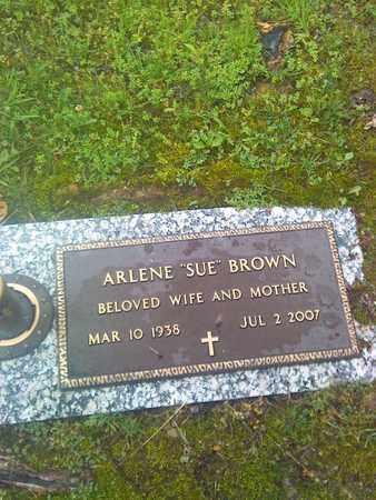 BROWN, ARLENE - Kanawha County, West Virginia | ARLENE BROWN - West Virginia Gravestone Photos