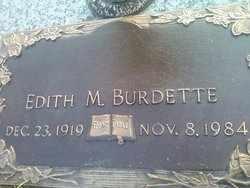 BURDETTE, EDITH - Kanawha County, West Virginia | EDITH BURDETTE - West Virginia Gravestone Photos