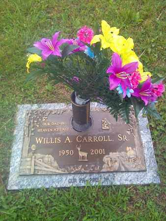 CARROLL, WILLIS - Kanawha County, West Virginia | WILLIS CARROLL - West Virginia Gravestone Photos