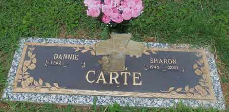 CARTE, DANNIE EUGENE - Kanawha County, West Virginia | DANNIE EUGENE CARTE - West Virginia Gravestone Photos