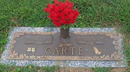 CARTE, OKEY - Kanawha County, West Virginia   OKEY CARTE - West Virginia Gravestone Photos