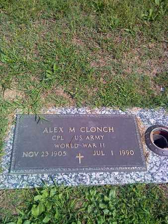 CLONCH (VETERAN WWII), ALEX - Kanawha County, West Virginia | ALEX CLONCH (VETERAN WWII) - West Virginia Gravestone Photos