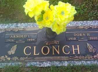CLONCH, ARNOLD - Kanawha County, West Virginia | ARNOLD CLONCH - West Virginia Gravestone Photos