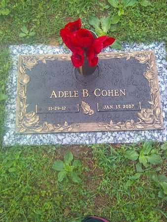 COHEN, ADELE B - Kanawha County, West Virginia | ADELE B COHEN - West Virginia Gravestone Photos