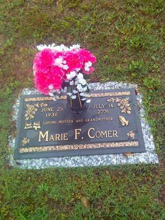 COMER, MARIE F - Kanawha County, West Virginia | MARIE F COMER - West Virginia Gravestone Photos