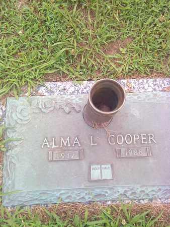 COOPER, ALMA - Kanawha County, West Virginia   ALMA COOPER - West Virginia Gravestone Photos