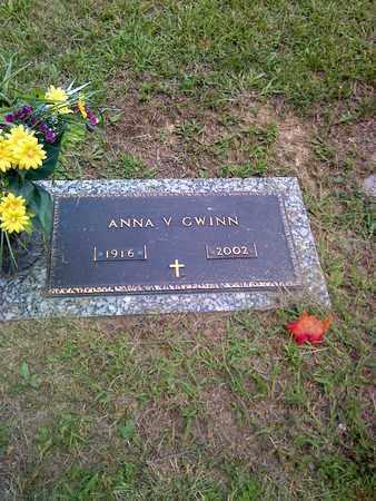 GWINN, ANNA - Kanawha County, West Virginia | ANNA GWINN - West Virginia Gravestone Photos