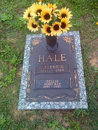 HALE, ARLENE - Kanawha County, West Virginia | ARLENE HALE - West Virginia Gravestone Photos