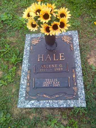 HALE, ARLENE - Kanawha County, West Virginia | ARLENE HALE - West Virginia Gravestone Photos