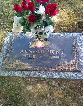 HUNT, ARNOLD - Kanawha County, West Virginia | ARNOLD HUNT - West Virginia Gravestone Photos