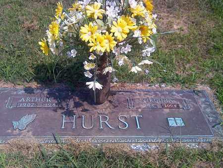 HURST, ARTHUR A - Kanawha County, West Virginia | ARTHUR A HURST - West Virginia Gravestone Photos