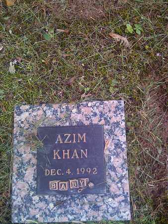KHAN, AZIM - Kanawha County, West Virginia | AZIM KHAN - West Virginia Gravestone Photos