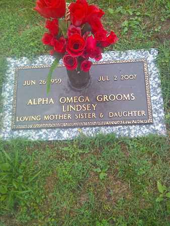 GROOMS LINDSEY, ALPHA OMEGA - Kanawha County, West Virginia | ALPHA OMEGA GROOMS LINDSEY - West Virginia Gravestone Photos