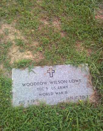 LOWE (VETERAN WWII), WOODROW - Kanawha County, West Virginia | WOODROW LOWE (VETERAN WWII) - West Virginia Gravestone Photos
