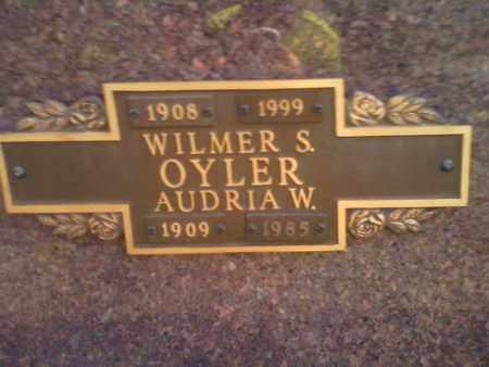 OYLER, AUDRIA - Kanawha County, West Virginia | AUDRIA OYLER - West Virginia Gravestone Photos