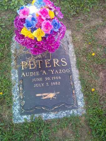 "PETERS, AUDIE A ""YAZOO"" - Kanawha County, West Virginia | AUDIE A ""YAZOO"" PETERS - West Virginia Gravestone Photos"