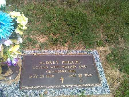 PHILLIPS, AUDREY - Kanawha County, West Virginia | AUDREY PHILLIPS - West Virginia Gravestone Photos