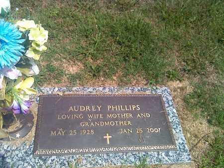 PHILLIPS, AUDREY - Kanawha County, West Virginia | AUDREY PHILLIPS - West Virginia Gravestone Photos