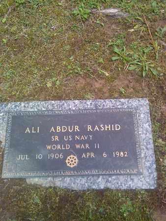RASHID (VETERAN WWII), ALI - Kanawha County, West Virginia   ALI RASHID (VETERAN WWII) - West Virginia Gravestone Photos