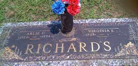 RICHARDS, ARLIE - Kanawha County, West Virginia | ARLIE RICHARDS - West Virginia Gravestone Photos