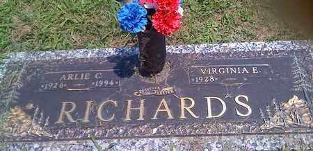 RICHARDS, ARLIE - Kanawha County, West Virginia | ARLIE RICHARDS - West Virginia Gravestone Photos