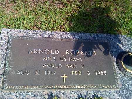 ROBERTS (VETERAN WWII), ARNOLD - Kanawha County, West Virginia | ARNOLD ROBERTS (VETERAN WWII) - West Virginia Gravestone Photos
