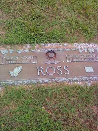 ROSS, AARON MOSES - Kanawha County, West Virginia | AARON MOSES ROSS - West Virginia Gravestone Photos