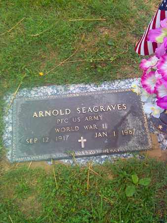 SEAGRAVES (VETERAN WWII), ARNOLD - Kanawha County, West Virginia | ARNOLD SEAGRAVES (VETERAN WWII) - West Virginia Gravestone Photos
