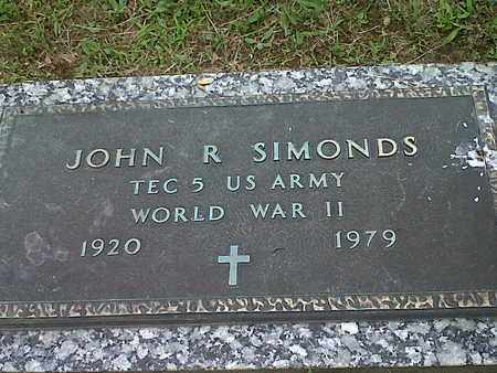 SIMONDS (VETERAN WWII), JOHN R - Kanawha County, West Virginia | JOHN R SIMONDS (VETERAN WWII) - West Virginia Gravestone Photos