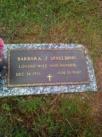SPAULDING, BARBARA J - Kanawha County, West Virginia   BARBARA J SPAULDING - West Virginia Gravestone Photos