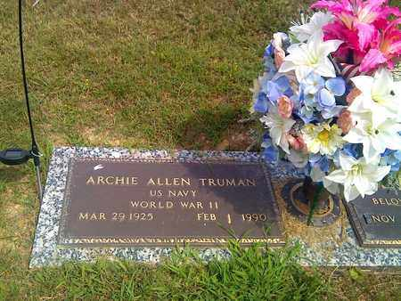 TRUMAN (VETERAN WWII), ARCHIE - Kanawha County, West Virginia | ARCHIE TRUMAN (VETERAN WWII) - West Virginia Gravestone Photos