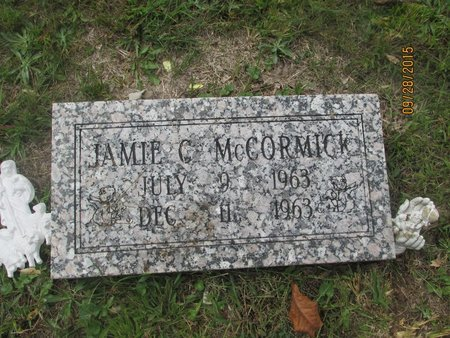 MCCORMICK, JAMIE CLAUDE - Lincoln County, West Virginia | JAMIE CLAUDE MCCORMICK - West Virginia Gravestone Photos