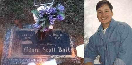 BALL, ADAM SCOTT - Logan County, West Virginia | ADAM SCOTT BALL - West Virginia Gravestone Photos
