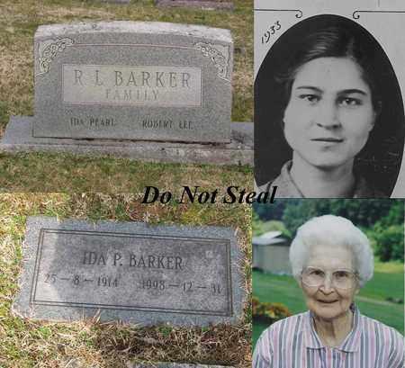 STOLLINGS BARKER, IDA PEARL - Logan County, West Virginia   IDA PEARL STOLLINGS BARKER - West Virginia Gravestone Photos