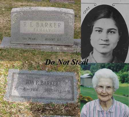 STOLLINGS BARKER, IDA PEARL - Logan County, West Virginia | IDA PEARL STOLLINGS BARKER - West Virginia Gravestone Photos