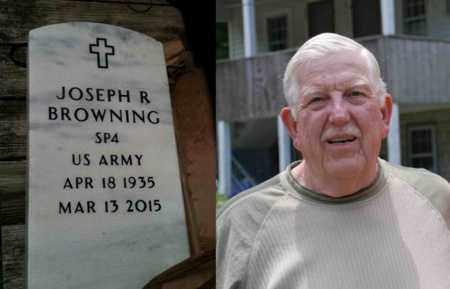 BROWNING (SP4 ARMY), JOSEPH  R(JOE) - Logan County, West Virginia | JOSEPH  R(JOE) BROWNING (SP4 ARMY) - West Virginia Gravestone Photos