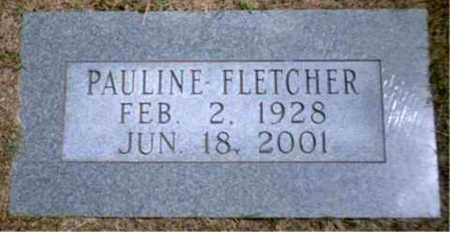 FLETCHER, PAULINE - Marion County, West Virginia | PAULINE FLETCHER - West Virginia Gravestone Photos