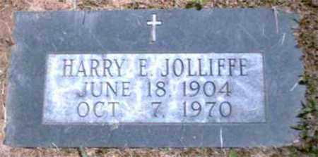 JOLLIFFE, HARRY E - Marion County, West Virginia   HARRY E JOLLIFFE - West Virginia Gravestone Photos