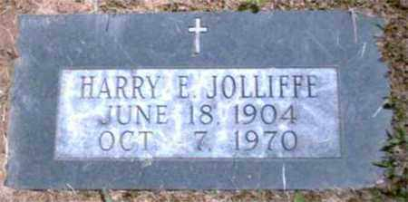 JOLLIFFE, HARRY E - Marion County, West Virginia | HARRY E JOLLIFFE - West Virginia Gravestone Photos