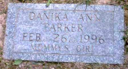 PARKER, DANIKA ANN - Marion County, West Virginia   DANIKA ANN PARKER - West Virginia Gravestone Photos