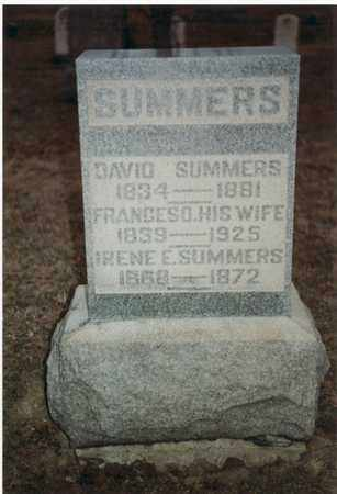 SUMMERS, DAVID - Marion County, West Virginia | DAVID SUMMERS - West Virginia Gravestone Photos