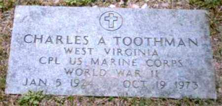 TOOTHMAN (VETERAN WWII), CHARLES - Marion County, West Virginia | CHARLES TOOTHMAN (VETERAN WWII) - West Virginia Gravestone Photos