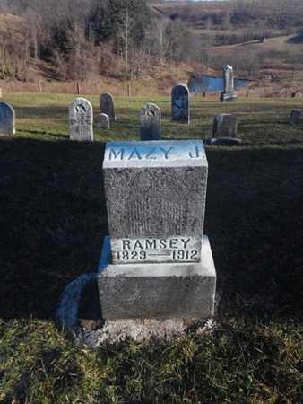 RINE RAMSEY, MAZY JANE - Marshall County, West Virginia   MAZY JANE RINE RAMSEY - West Virginia Gravestone Photos
