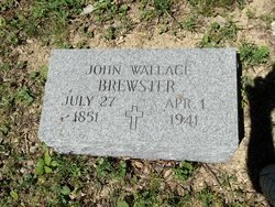 BREWSTER, JOHN WALLACE - McDowell County, West Virginia   JOHN WALLACE BREWSTER - West Virginia Gravestone Photos