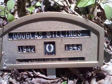 BILLINGS, DOUGLAS - Mercer County, West Virginia | DOUGLAS BILLINGS - West Virginia Gravestone Photos