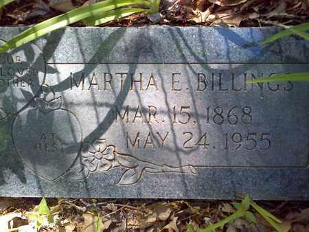 COMBS BILLINGS, MARTHA - Mercer County, West Virginia   MARTHA COMBS BILLINGS - West Virginia Gravestone Photos