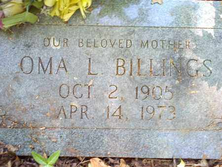 TILLEY BILLINGS, OMA L - Mercer County, West Virginia | OMA L TILLEY BILLINGS - West Virginia Gravestone Photos
