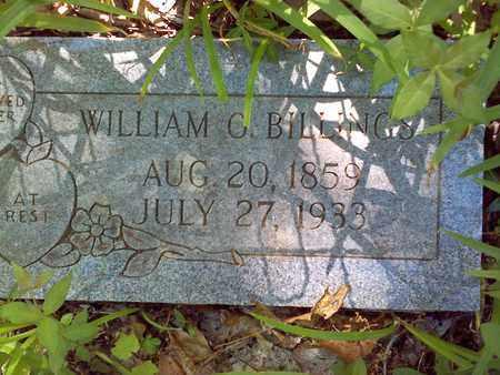 BILLINGS, WILLIAM O - Mercer County, West Virginia | WILLIAM O BILLINGS - West Virginia Gravestone Photos